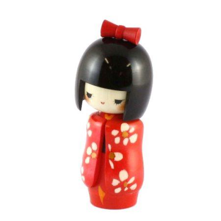 Kokeshi doll Otomesode Aka 1