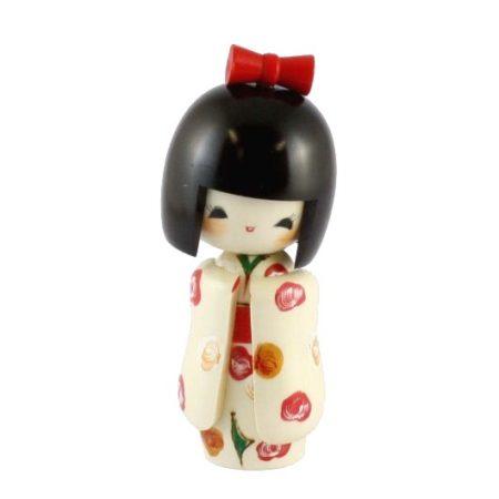 Kokeshi doll Otomesode Shiro 1