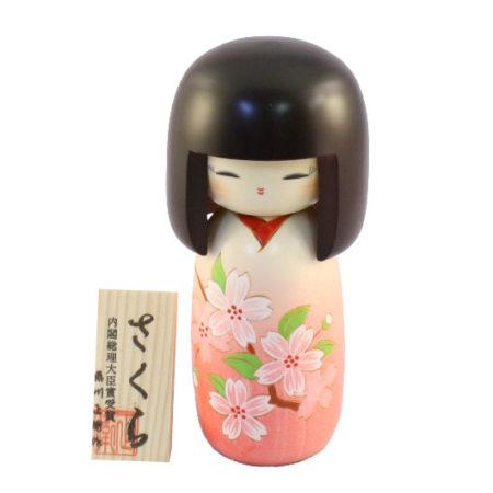 Kokeshi doll Sakura 1