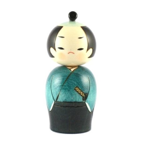 Kokeshi doll Samurai 2