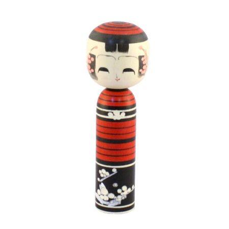 Kokeshi doll Umeemaki Aka 1