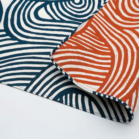 104cm-Furoshiki-Isa-monyo-Reversible-Navy-Blue-Orange