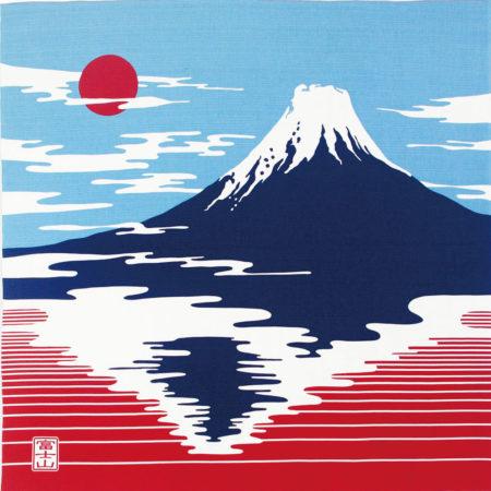 90cm Furoshiki Kenema Mt. Fuji