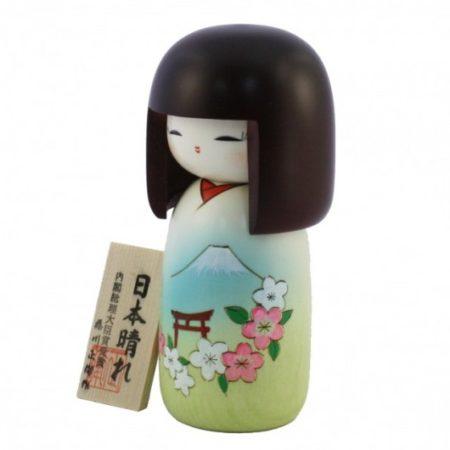 Kokeshi doll Nihon bare 1