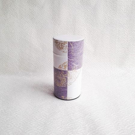 Tea-tin-(large)-Seijyaku-Purple-1