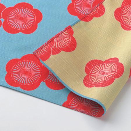 48cm-Furoshiki-Isa-Monyo-Plum-Blossom-Blue-Beige