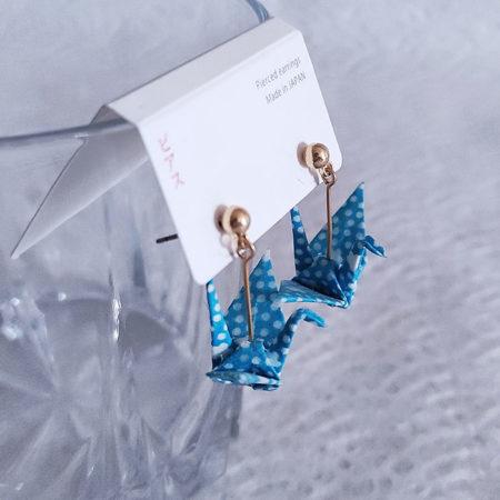 Handmade-Origami-Earrings-Crane-B