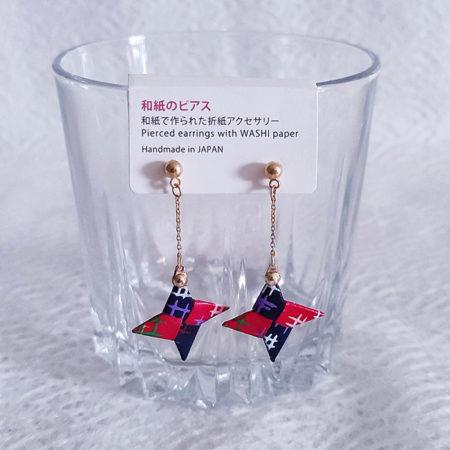 Handmade-Origami-Earrings-Shuriken-a