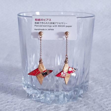 Handmade-Origami-Earrings-Shuriken-b