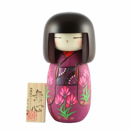 Japanese Kokeshi Doll Mushin2