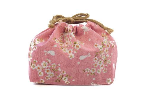 Sakura-Bunny-cotton-Bag-Pink