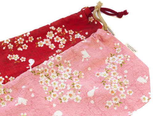 Sakura-Bunny-cotton-Bag-Pink-&-Red