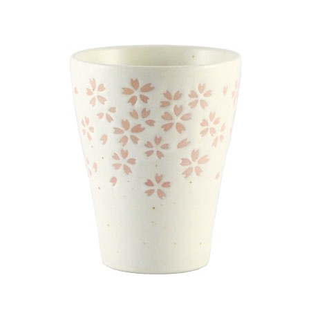 Sakura free cup white 2