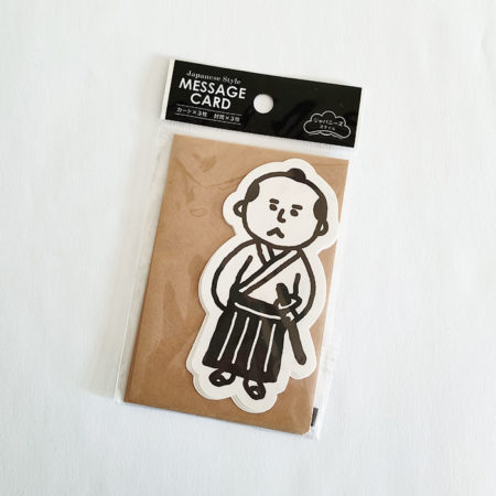 mini-message-cards-with-envelopes-samurai