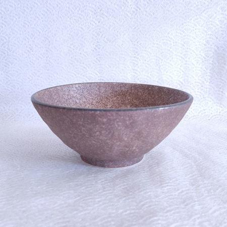 Japanese Ramen bowl Earth Brown 1000ml