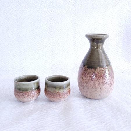 Japanese-Sake-set-Iga-Oribe
