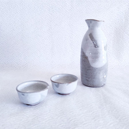 Japanese Sake set Kohiki Nuriwake 330ml