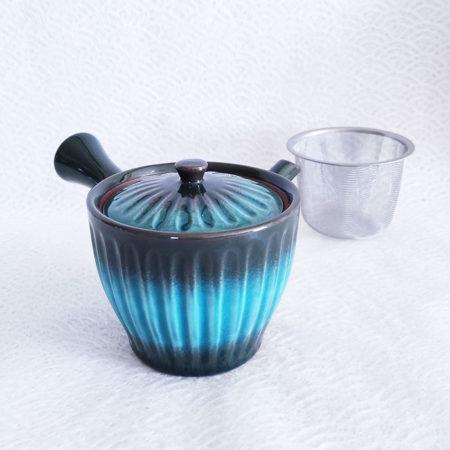 Shinkai-Kikugata-Kyusu-Teapot