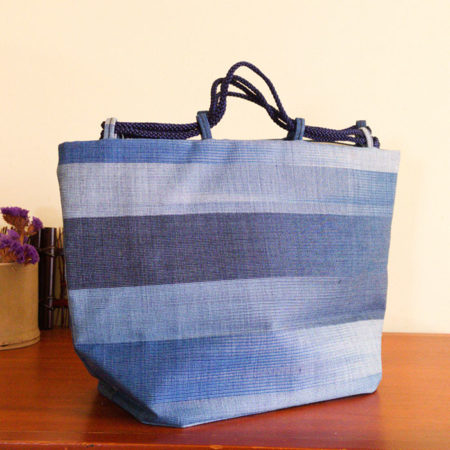 Vintage Japanese Tsumugi bag 1