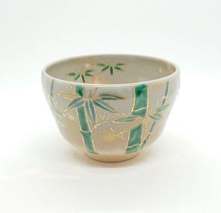 Handmade Matcha bowl Sagano