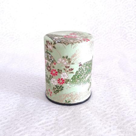 Japanese-Tea-tin-(small)-Kusabana-2