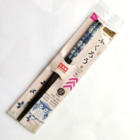Japanese chopsticks owl
