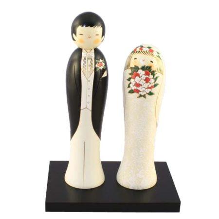 Kokeshi doll Wedding