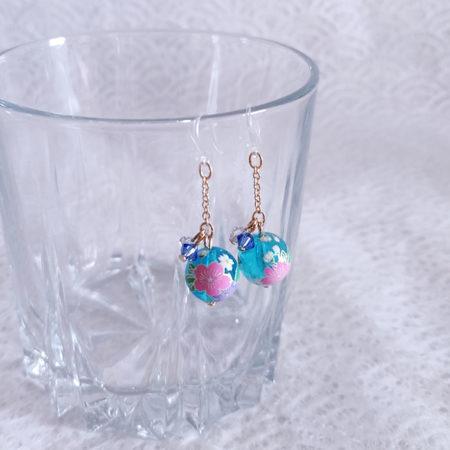 Temari-earring-blue