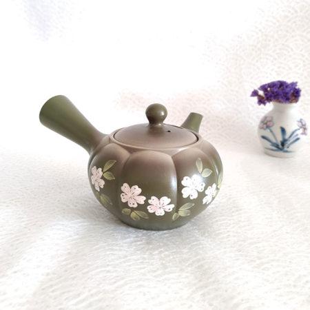 Tokoname-Kyusu-Teapot-Kiku-Midori-2
