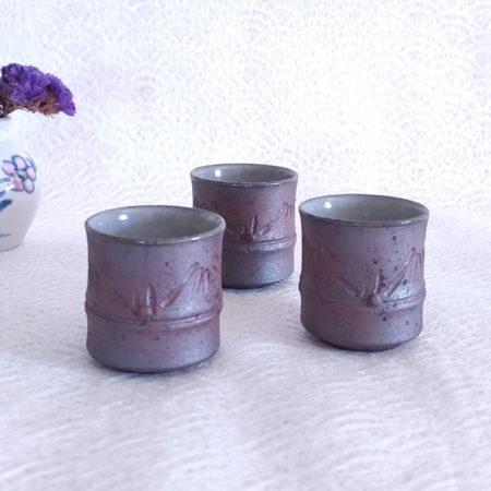 3-Vintage-Handmade-Sake-cups