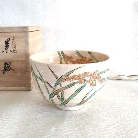 Vintage-Handmade-Matcha-bowl-Inaho-1