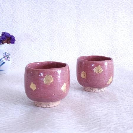 Vintage-Handmade-Sake-cups-pair