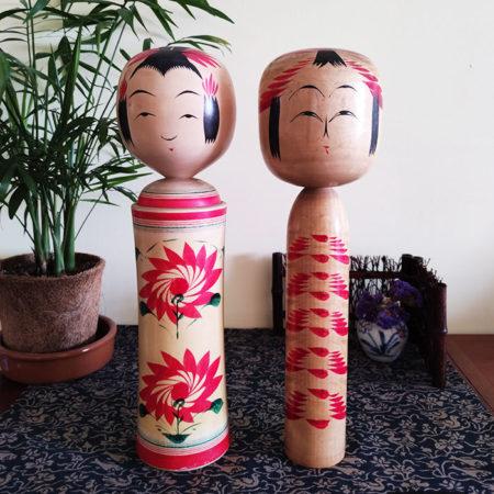 2-Vintage-Traditional-Kokeshi-dolls-2