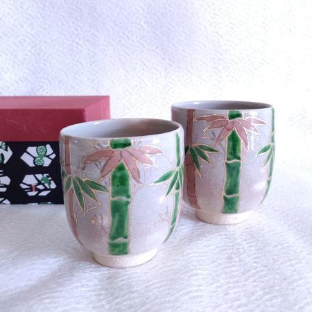 Handmade-Yunomi-Tea-Cups-Pair-Gohonte-Sagano