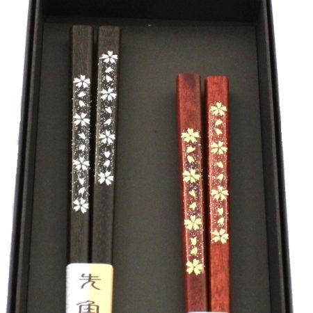 Premium chopsticks gift set Kingin Sakura 2.