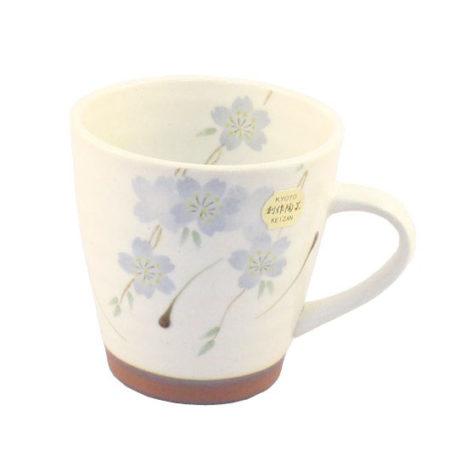 Sakura mug cup blue
