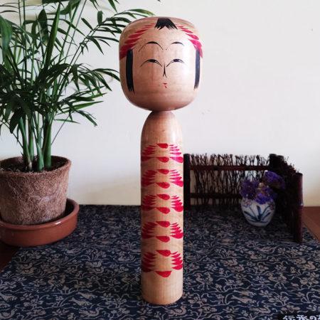 Vintage-Traditional-Kokeshi-doll-Togatta-style-by-Sato-Tadashi-30cm