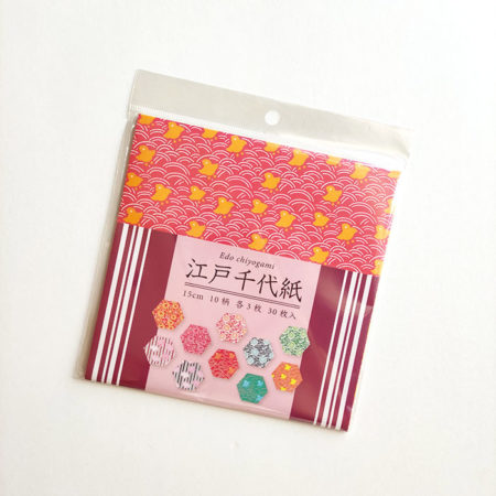 Edo Chiyogami 30 papers 10 patterns