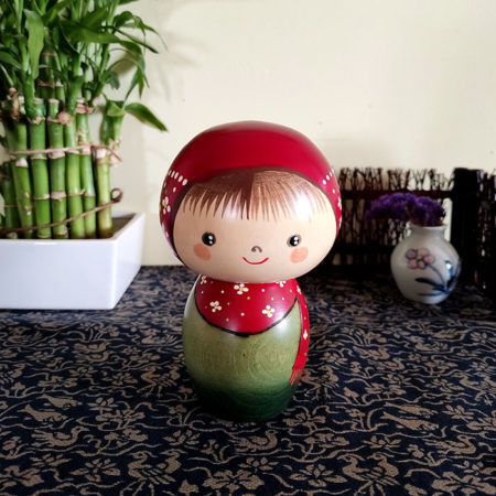 Japanese-Kokeshi-doll-Hanakazari