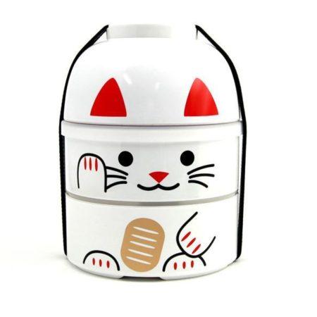 Maneki-neko (lucky cat) Bento box 3