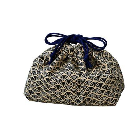 Ocean wave cotton bag